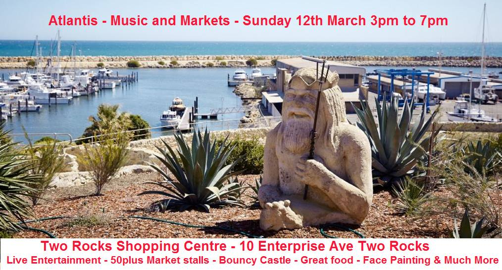 Atlantis - Music and Markets Sunday 12th March 2017