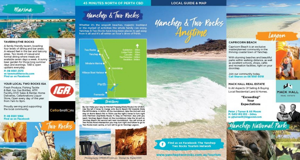 Yanchep & Two Rocks Anytime Brochure 2016