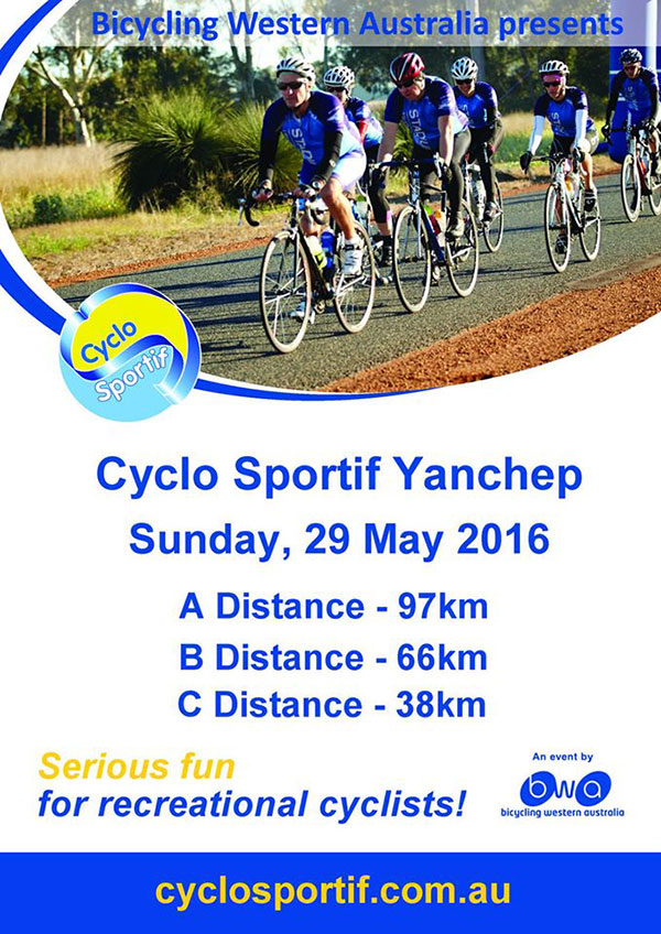 Yanchep Cyclo Sportif cycling event 2016